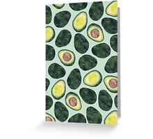 Avocado Addict Greeting Card