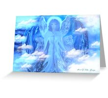 MAY ANGEL OF LOVE PEACE AND HOPE Greeting Card