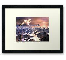 Travels with Tinman - No Place to Land! Framed Print