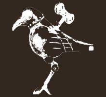 robot bird white by Kristopher Jones