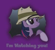 "Twilight Sparkle ""I'm Watching you!"" - My Little Pony Friendship is Magic by DarkArrow"