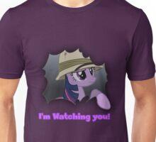"Twilight Sparkle ""I'm Watching you!"" - My Little Pony Friendship is Magic Unisex T-Shirt"