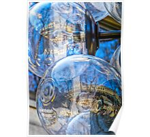 Quincy Market Reflections Poster