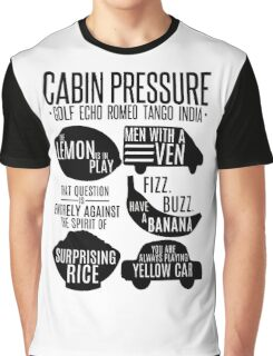 Cabin pressure moments  Graphic T-Shirt