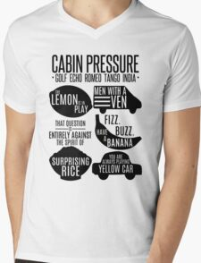 Cabin pressure moments  Mens V-Neck T-Shirt