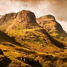 Three Sisters. Glencoe. Scotland by JennyRainbow