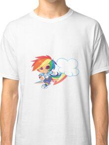 MLP Gijinka Rainbowdash  Classic T-Shirt