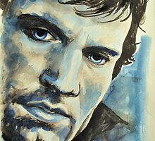 Henry Cavill-Thésée, featured in Shameless Self-promotion, Painters Universe by Françoise  Dugourd-Caput