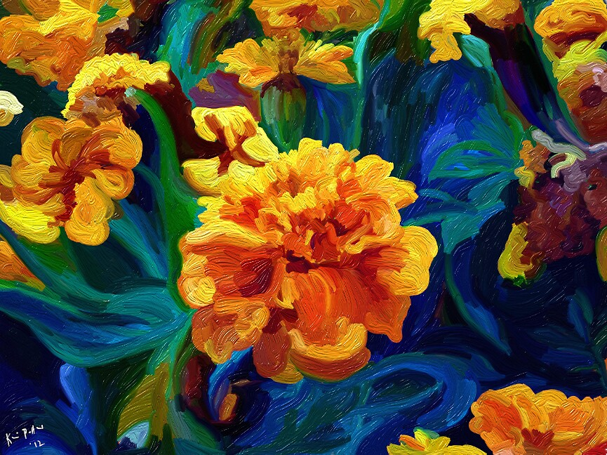 Marigolds for Vincent by KariedAway
