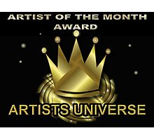Artists Universe Banner Challenge Photographic Print