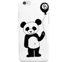 Balloon Panda iPhone Case/Skin