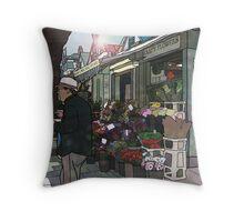 Norwich Market Throw Pillow