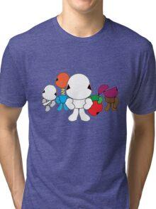 ROBOT WARS Tri-blend T-Shirt