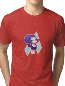 MLP Gijinka Rarity Tri-blend T-Shirt