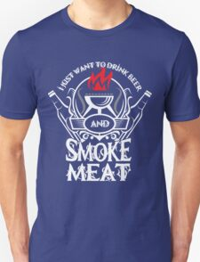 Drink Beer And Smoke Meat T-Shirt