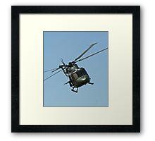 Lynx Helicopter Framed Print
