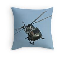 Lynx Helicopter Throw Pillow