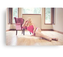 Bombshell Afternoon Canvas Print