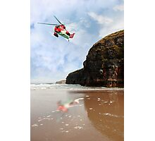air sea rescue coastal search Photographic Print