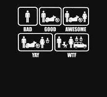 Motorbike and Marriage Stickman Shirt T-Shirt