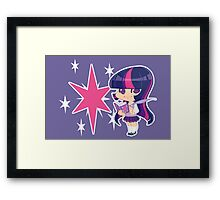 MLP Gijinka Twilight Sparkle Framed Print