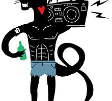 Boombox Panther by JamesShannon