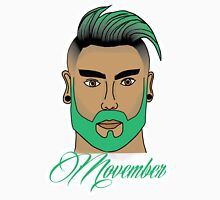Movember Green Unisex T-Shirt