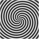 Swirl in Black and White by Objowl