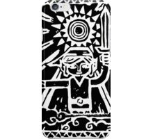 Wind Waker Block Print white iPhone Case/Skin