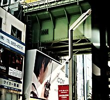 Tokyo Street by Raftman