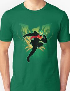 Super Smash Bros. Green Captain Falcon Silhouette T-Shirt