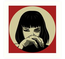 Mia (version 3) Art Print