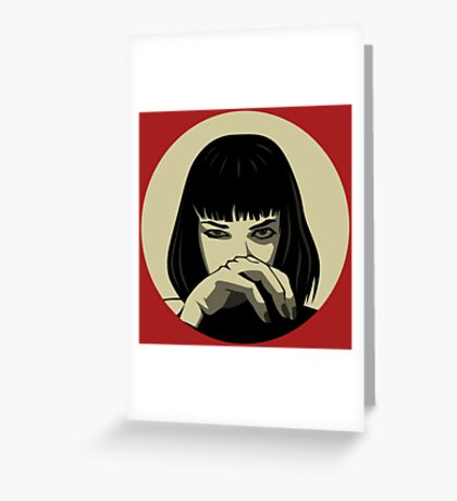 Mia (version 3) Greeting Card