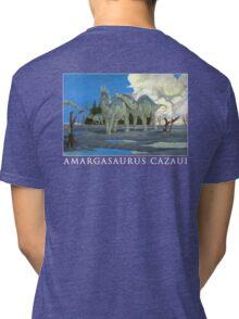 Amargasaurus Cazaui Tri-blend T-Shirt