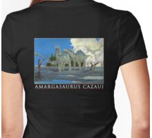 Amargasaurus Cazaui Womens Fitted T-Shirt