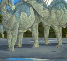 Amargasaurus Cazaui Sticker