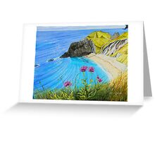 Man O War Bay - a different perspective Greeting Card