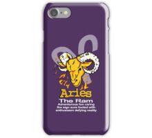 Aries The Ram iPhone Case/Skin