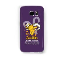Aries The Ram Samsung Galaxy Case/Skin