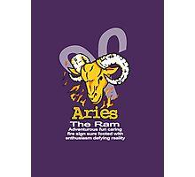 Aries The Ram Photographic Print