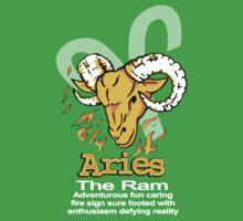 Aries The Ram One Piece - Short Sleeve