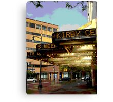 """The Kirby Center"" Canvas Print"