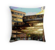 """The Kirby Center"" Throw Pillow"
