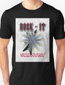 """Rock-It Scientist"" Diamond Unisex T-Shirt"