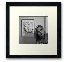Josephine  & Josephine Framed Print