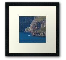 The Foot of Slieve League Framed Print