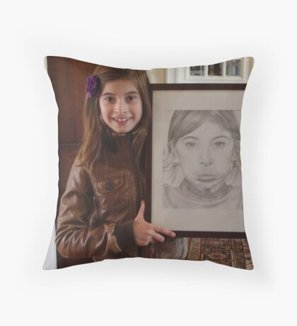 Amelie & Amelie II Throw Pillow