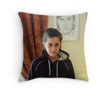 Justine & Justine II Throw Pillow