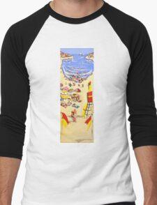 Between the flags Men's Baseball ¾ T-Shirt