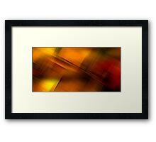Smudgers Gold Framed Print